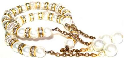 Achal Metal Crystal Bracelet Set