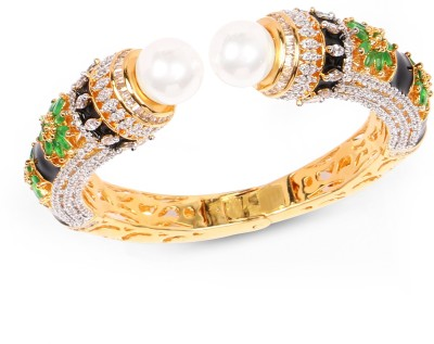 Johareez Brass Yellow Gold Kada