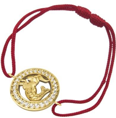 Jewelslane Gold, Fabric Bracelet