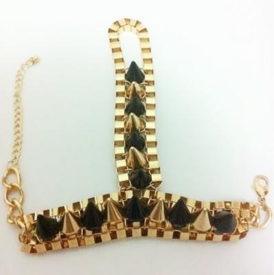 Fashnopolism Metal Bracelet