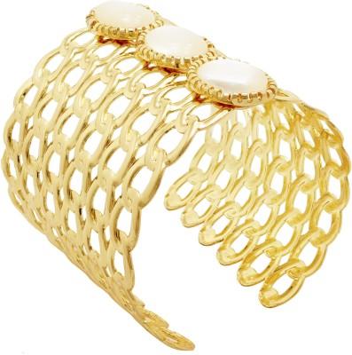 Ishaani Alloy Yellow Gold Cuff