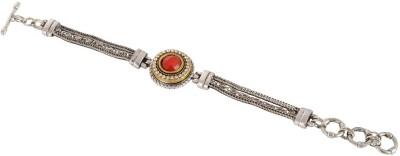 Subharpit Alloy Cubic Zirconia Charm Bracelet