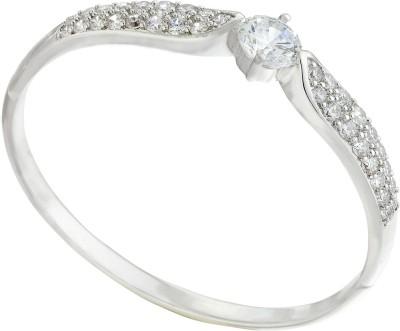 Kushals Fashion Jewellery Silver, Alloy Rhodium Kada