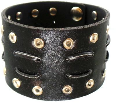 Modish Look Leather Bracelet