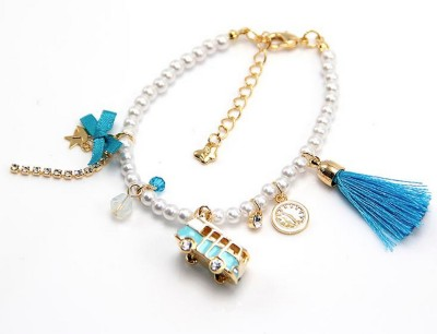 Brand Me Up Alloy Charm Bracelet