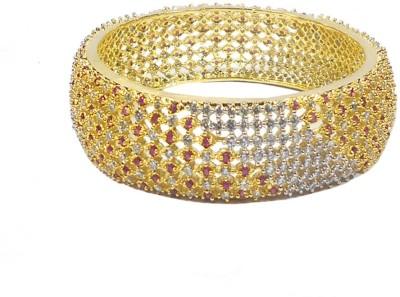 Rejewel Alloy 22K Yellow Gold Kada