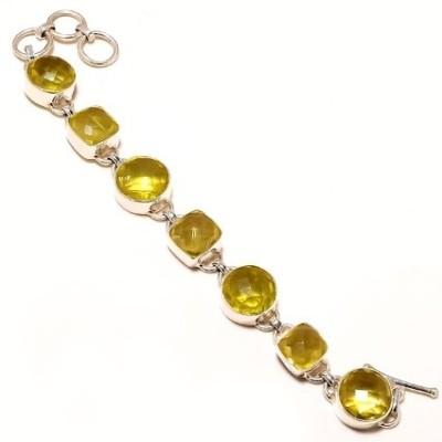 Kirti Gems Sterling Silver Turquoise Bracelet