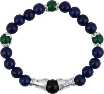 Pearlz Ocean Alloy Jade, Onyx Bracelet