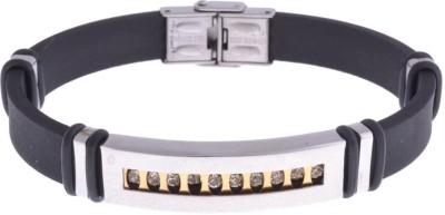 the jewelbox Stainless Steel Cubic Zirconia Bracelet
