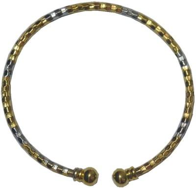 Men Style Stainless Steel 24K Yellow Gold Kada