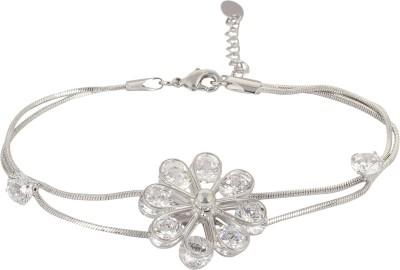 SNYTER Alloy Zircon Rhodium Bracelet