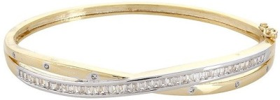 Affinity Jewellers Alloy Cubic Zirconia 18K Yellow Gold Bracelet
