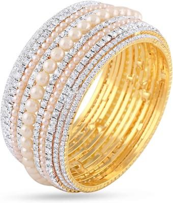Rich Lady Brass Yellow Gold Kada