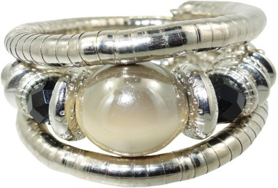 Anjan Brass Silver Bracelet