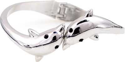 Amour Alloy Silver Bracelet