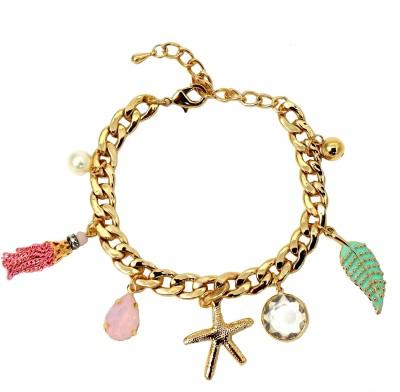 Ammvi Creations Alloy Charm Bracelet