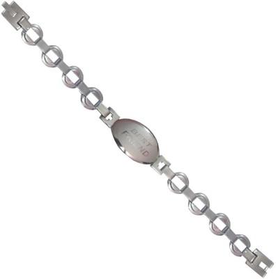 Men Style Stainless Steel Bracelet available at Flipkart for Rs.199