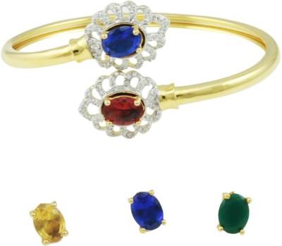 The Art Jewellery Brass Yellow Gold Kada