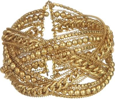 DCA Steel Yellow Gold Bracelet
