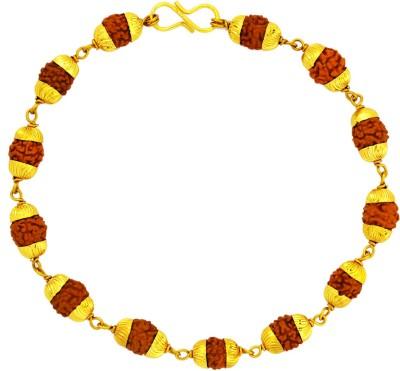 Memoir Brass Beads 24K Yellow Gold Bracelet