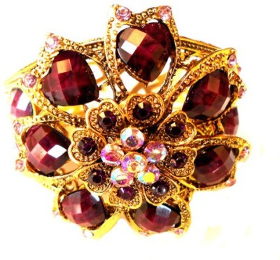 Achal Metal Crystal Copper Bracelet