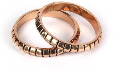 Kalpaveda Copper Copper Bangle(Pack of 2)
