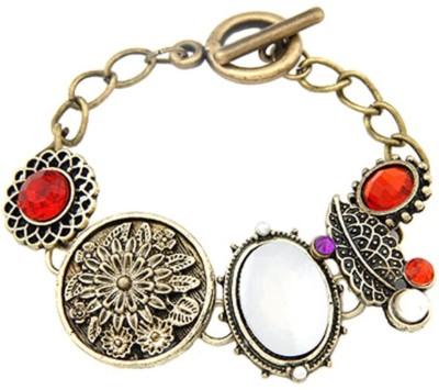 Jewel Touch Alloy, Enamel Bracelet