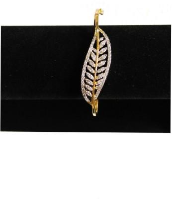 Blingxing Metal Yellow Gold, Rhodium Bracelet