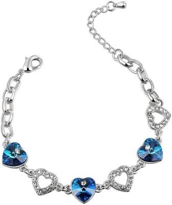 Charm Moon Copper Swarovski Crystal Bracelet