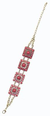Pearls India Metal, Resin Bracelet