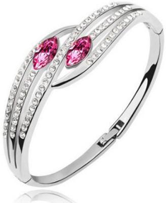 Karatcart Zinc Platinum Charm Bracelet