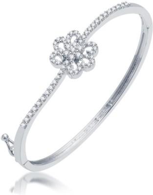 Sukkhi Alloy Cubic Zirconia Rhodium Bracelet