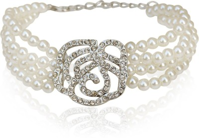 The Pari Alloy Rhodium Bracelet