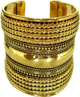 IP Brass Brass Bracelet