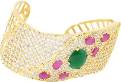 Belleza Jewelry Alloy 24K Yellow Gold Bracelet