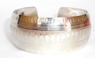 Achal Metal Rhodium Bracelet