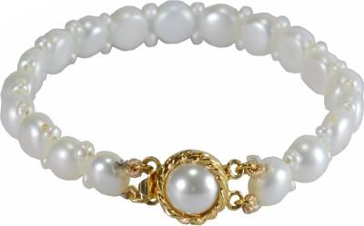 Pearl Paradise Brass Pearl Yellow Gold Bracelet