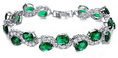 Charm Moon Copper Crystal Bracelet
