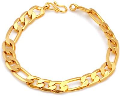 Paul Chains Alloy Yellow Gold Bracelet