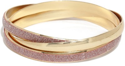 Dressberry Metal Enamel Bangle Set(Pack of 3) at flipkart