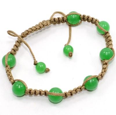 Silvesto India Stone Jade Bracelet