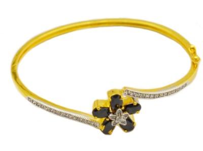 Dilan Jewels Silver 23K Yellow Gold Bracelet