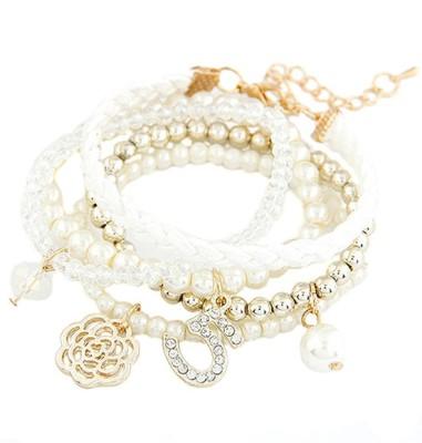 Young & Forever Alloy Bracelet Set