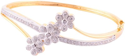 Affinity Jewellers Alloy Cubic Zirconia Yellow Gold Bracelet