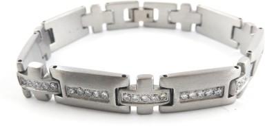 Seeyara Steel Cubic Zirconia Bracelet