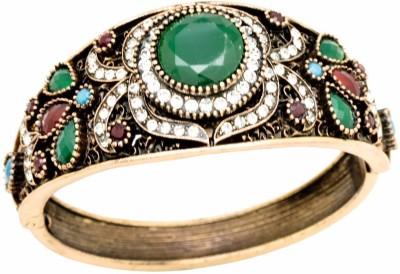 YugshaJewels Brass Cubic Zirconia Bracelet