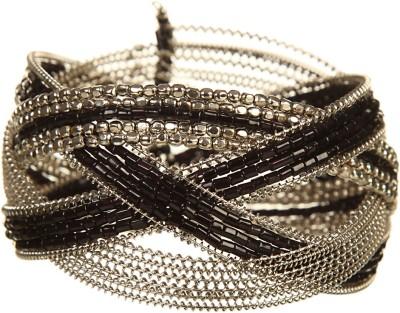DCA Glass, Steel Silver Bracelet