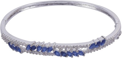 Muchmore Alloy Cubic Zirconia Sterling Silver Bracelet
