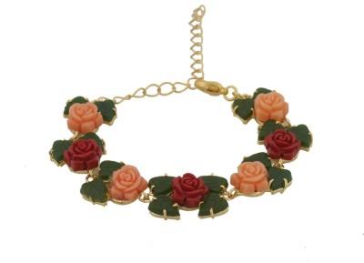 Nisa Pearls Alloy Bracelet