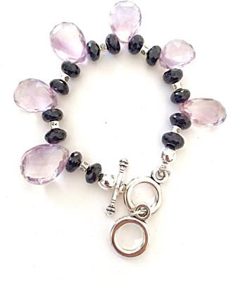 DG Crystal Amethyst, Spinel Charm Bracelet
